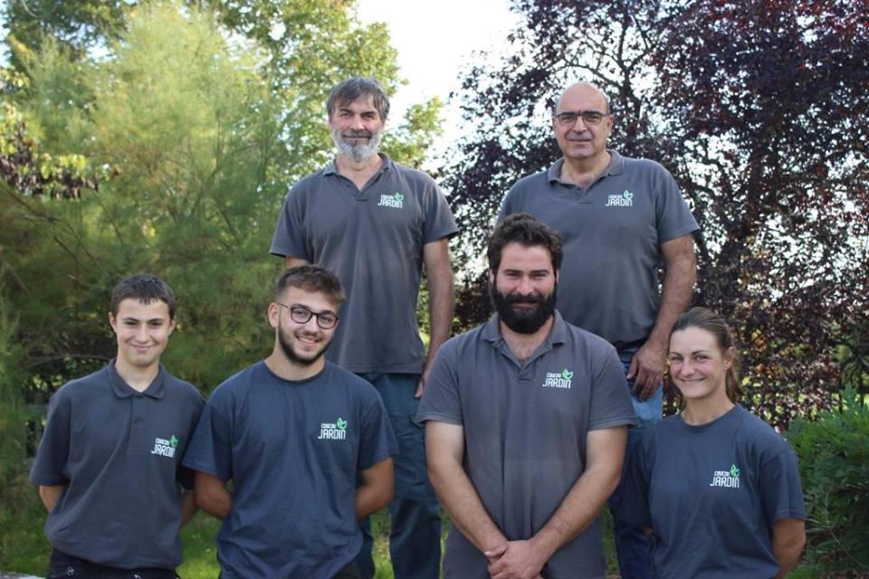 L'équipe Coucou Jardin